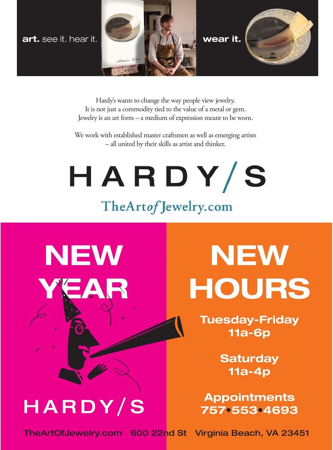 Hardys Jewellers - Happy New Year