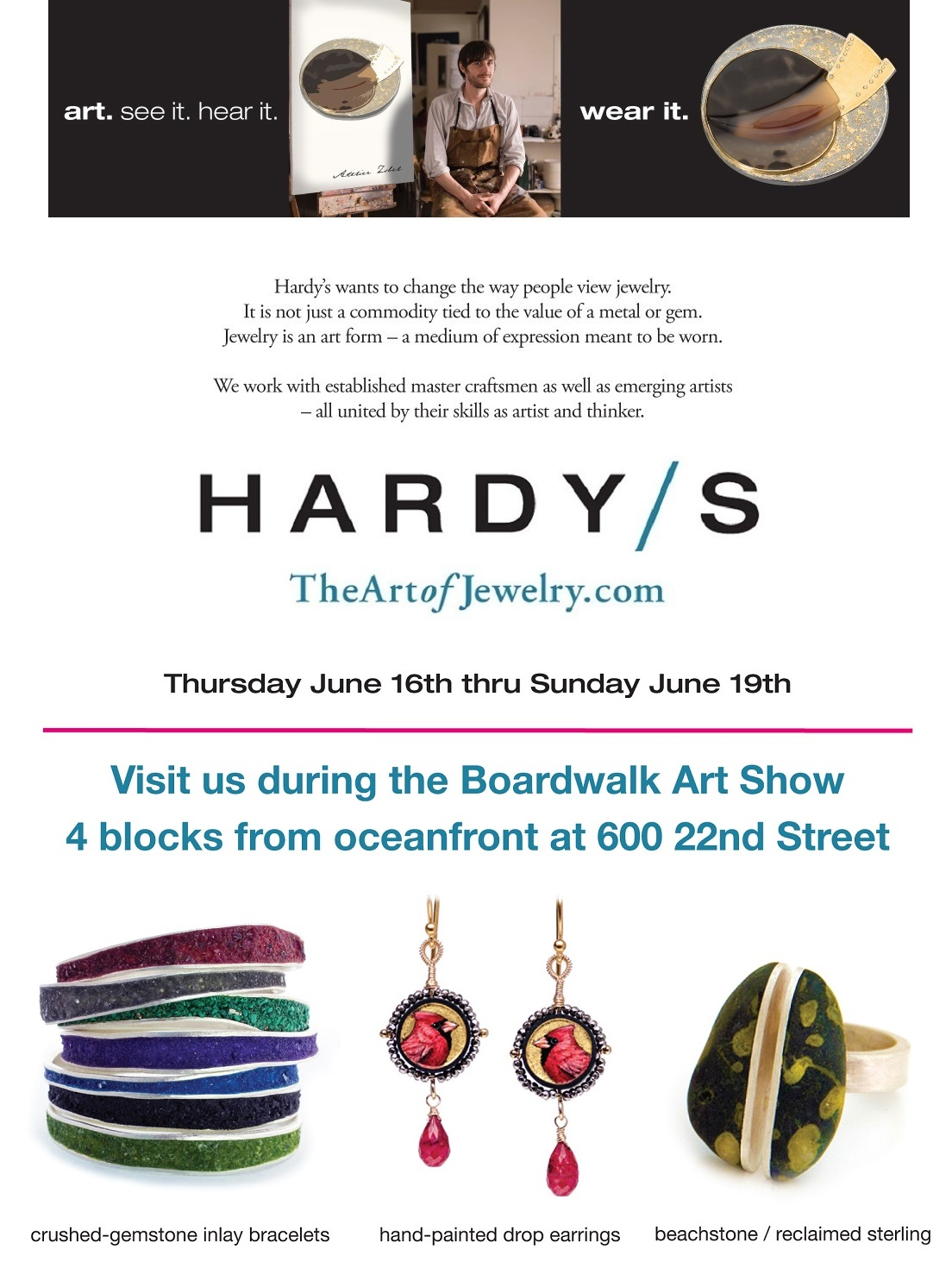 Hardy's Jewellers | The Art of Jewelry | Virginia Beach