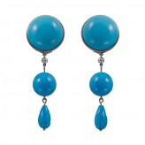 SL Turquoise Drop Earrings